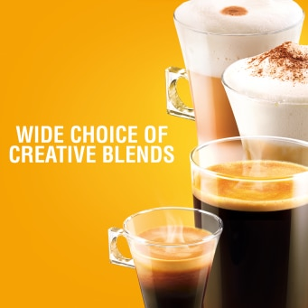 Wide Choice of Coffee - Espresso Intenso