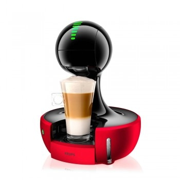 Nescafé® Dolce Gusto® Drop Otomatis Merah Metalik Coffee Machine  - Tampilan Default
